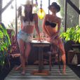 Emily Ratajkowski en mode Magdalena Experience, photo Instagram du 20 mars 2015
