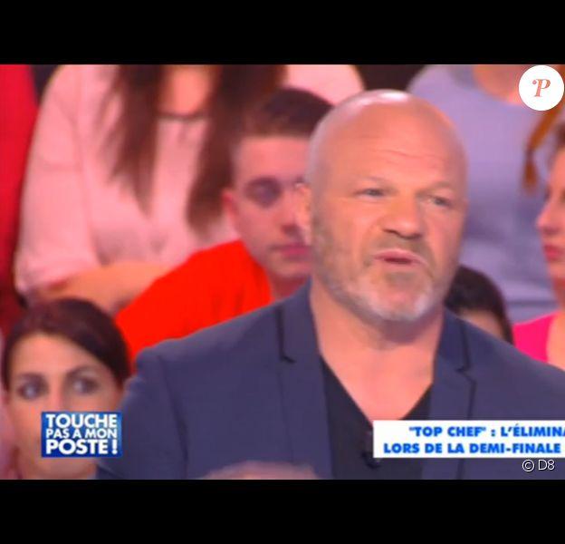 Philippe Etchebest dans Touche pas à mon poste sur D8, le mardi 7 avril 2015.