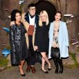 Jhene Aiko, Andrew Bevan, Morgan Saylor, Tallulah Willis au défilé Honor Fall 2015 à Artbeam, New York le 12 février 2015