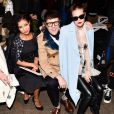Jhene Aiko, Andrew Bevan, Tallulah Willis au défilé Honor Fall 2015 à Artbeam, New York le 12 février 2015