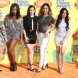 "Fifth Harmony à la soirée ""Nickelodeon's 28th Annual Kids' Choice Awards"" à Inglewood, le 28 mars 2015"