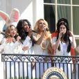 Fifth Harmony à la Maison Blanche le 6 avril 2015