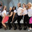 Victoria Lee, Elly Mayday, Ashley Graham, Sandra Pepa Denton, Cheryl Salt James , Marquita Pring , Candice Huffine et Justine LeGault dans les rues de New York pour la campagne I am No Angel