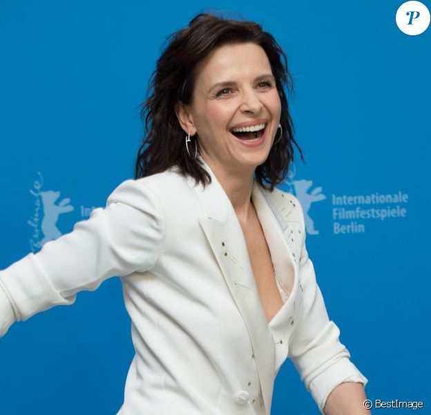 "Juliette Binoche - Photocall du film ""Nobody Wants the Nights"" lors du 65e festival du film de Berlin, la Berlinale, le 5 février 2015"