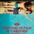 """""""Affiche officielle du 29e Festival du film romantique de Cabourg."""""""