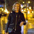 Prix special - Exclusif - Alexandra Lamy arrive a Bruxelles le jeudi 16 janvier.