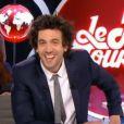 Max Boublil prend les commandes du  Petit Journal  sur Canal+, le vendredi 10 avril 2015.