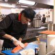 Olivier dans  Top Chef 2015  (la finale) sur M6, le lundi 13 avril 2015.