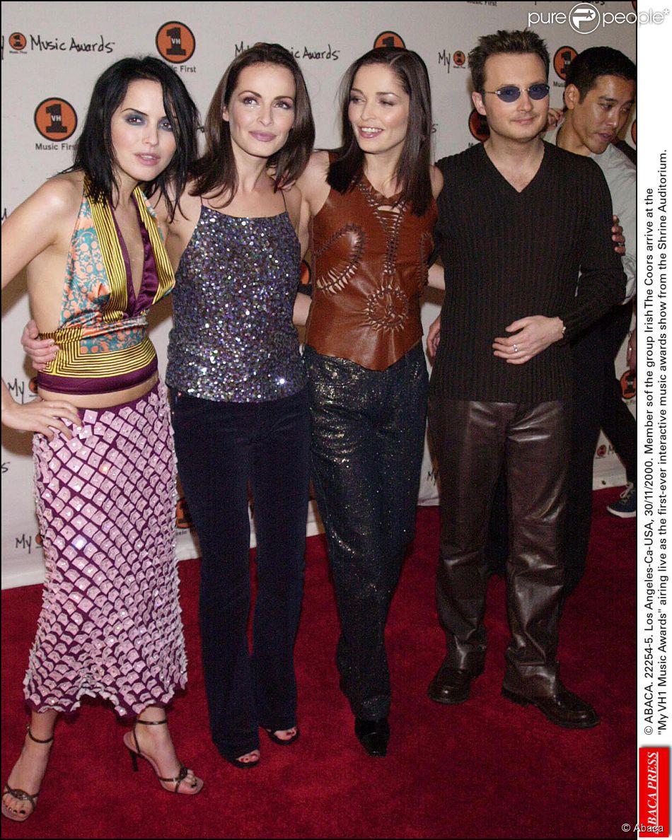 Le groupe The Corrs formé par Andrea et ses frères et soeurs Caroline, Sharon et Jim. Photo prise en 2000.