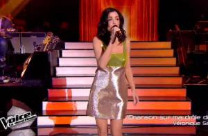 The Voice 4 - Jenifer : Sa robe Fausto Puglisi surprend !