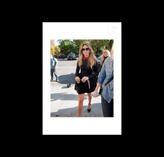 Jennifer Lopez fan de sa pochette Tyler Alexandra