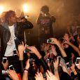 Wiz Khalifa au Cub 79 à Paris. Le 6 novembre 2014.