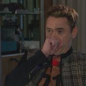 Robert Downey Jr. et son ''passé sombre'' : Un moment gênant et très bizarre...