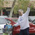 Richard Dean Anderson, méconnaissable à Malibu, Los Angeles, le 22 avril 2015.