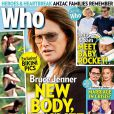 La couverture du magazine Who, avec Bruce Jenner en bikini et couverture