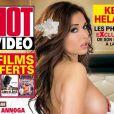 Kelly Helard des Ch'tis en couverture de Hot Video
