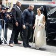 Kim Kardashian arrive au Cipriani 42nd Street pour assister au déjeuner Power of Women du magazine Variety. New York, le 24 avril 2015.