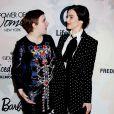 Lena Dunham et Rachel Weisz assistent au déjeuner Power of Women du magazine Variety au Cipriani 42nd Street. New York, le 24 avril 2015.
