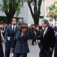 Tina Turner et Edward Bach arrive à l'événement Armani au musée Silos le 30 avril 2015