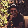David Beckham fête ses 40 ans avec sa femme Victoria à Marrakech le 2 mai 2015.