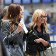 Arrivée des invités pour les 40 ans de David Beckham à l'aéroport de Marrakech au Maroc, le 1er mai 2015.