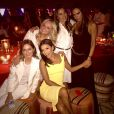 Emma et Mel C des Spice Girls à Marrakech, le 2 mai 2015, pour l'anniversaire de David Beckham.