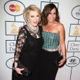Joan Rivers, Melissa Rivers - 56e Soirée pre-Grammy and Salute To Industry Icons au Beverly Hilton Hotel de Beverly Hills le 25 janvier 2014