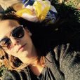 Pauline Ducruet en pleine détente dans Central Park à New York, photo Instagram du 11 avril 2015