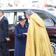 Cérémonie de commémoration pour le 70e anniversaire de la fin de la Seconde Guerre Mondiale à l'abbaye de Westminster à Londres le 9 mai 2015.