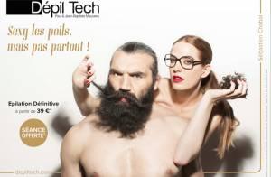 Sébastien Chabal : Torse nu et au poil dans les bras d'une reine de beauté