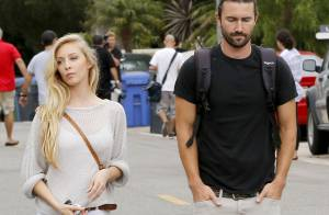 brandon jenner sa femme leah enceinte et sublime une grossesse rayonnante. Black Bedroom Furniture Sets. Home Design Ideas