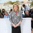 """Catherine Deneuve - Photocall du film """"La Tête haute"""" (hors compétition) lors du 68ème festival de Cannes le 13 mai"""
