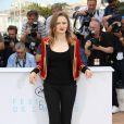 """Sara Forestier - Photocall du film """"La Tête haute"""" (hors compétition) lors du 68ème festival de Cannes le 13 mai"""