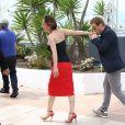 """Emmanuelle Bercot, Benoît Magimel - Photocall du film """"La Tête haute"""" (hors compétition) lors du 68ème festival de Cannes le 13 mai 2015"""