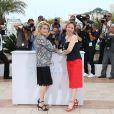 """Catherine Deneuve, Emmanuelle Bercot - Photocall du film """"La Tête haute"""" (hors compétition) lors du 68ème festival de Cannes le 13 mai 2015"""