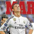 Cristiano Ronaldo en Une de Marca le 14 mai 2015.