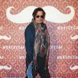 """Johnny Depp - Avant-première du film """"Charlie Mortdecai"""" à Berlin, le 18 janvier 2015."""