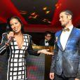 Ayem Nour, Philippe Shangti - Vernissage de l'exposition du photographe Philippe Shangti au VIP Room à Cannes le 14 mai 2015