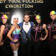 Philippe Shangti - Vernissage de l'exposition du photographe Philippe Shangti au VIP Room à Cannes le 14 mai 2015.