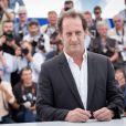 """Vincent Lindon - Photocall du film """"La Loi du marché"""" lors du 68e Festival international du film de Cannes le 18 mai 2015"""