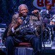 B. B. King à Las Vegas, le 27 septembre 2014.