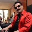 """Exclusif - Rencontre avec Bobby Kimball du groupe Toto lors du 68 ème Festival International du Film de Cannes le 18 mai 2015,pour le coktail """"Vodka Red Carpet"""", vodka créée par Grégory Ferrié."""