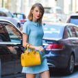 Taylor Swift à New York. Le 18 avril 2015.