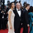"""Madalina Ghenea, Alex MacQueen, Paul Dano - Montée des marches du film """"Youth"""" lors du 68e Festival International du Film de Cannes, le 20 mai 2015."""