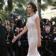 """Madalina Ghenea - Montée des marches du film """"Youth"""" lors du 68e Festival International du Film de Cannes, le 20 mai 2015."""