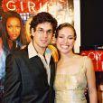 """Adam Garcia et Piper Perabo à l'avant-première de """"Coyote Girls"""" à Paris, le 12 octobre 2000."""