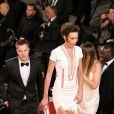 """Nieves Alvarez - Montée des marches du film """"Shan He Gu Ren"""" (Mountains May Depart) lors du 68e Festival International du Film de Cannes, à Cannes le 20 mai 2015."""