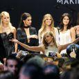 """Karlie Kloss lors du gala """"Cinema Against AIDS 22"""" de l'amfAR à l'hôtel Cap-Eden-Roc. Antibes, le 21 mai 2015."""