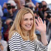 Julie Gayet, radieuse, révèle son ''Trésor'' au Festival de Cannes...