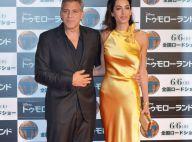 George Clooney et Amal, déesse satinée : Amoureusement unis face à l'adversité